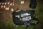 Zadržen na místě činu! Policisté lapli kriminálníka.