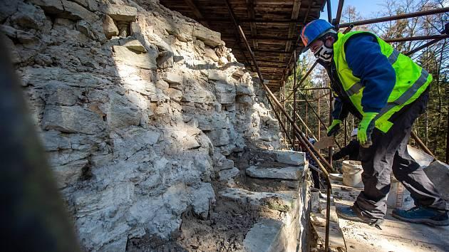 Hlavním cílem oprav Vízmburku je záchrana památky a trvalé zpřístupnění hradu pro veřejnost. Za projektem stojí havlovické Sdružení pro Vízmburk.