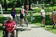 Expozice historie cyklistiky láká milovníky starých kol do Žirče