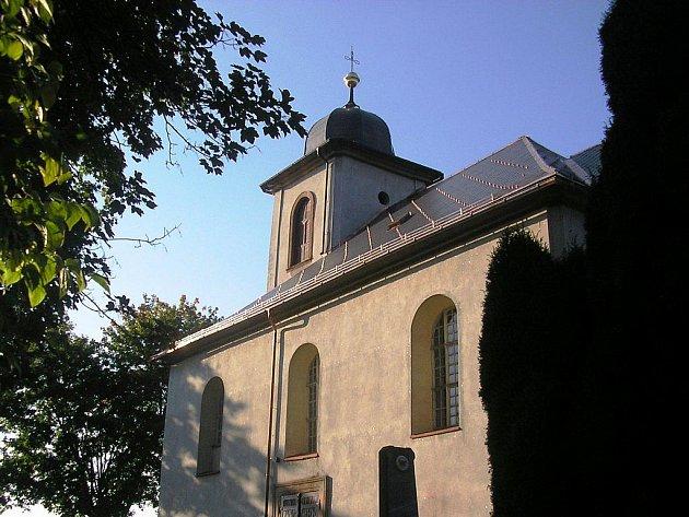 Kostel v Čisté u Horek