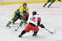 Dvorští hokejisté na domácím ledě porazili soupeře z Letňan 4:2.