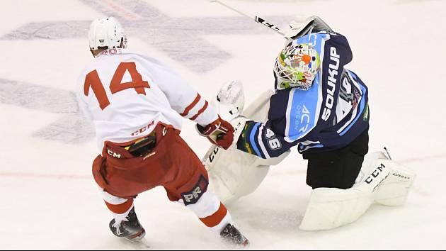 Vrchlabští hokejisté ve středu převážili vzájemnou bilanci s pražskou Slavii na svou stranu.