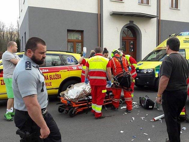 Středeční nehoda v Mladých Bukách