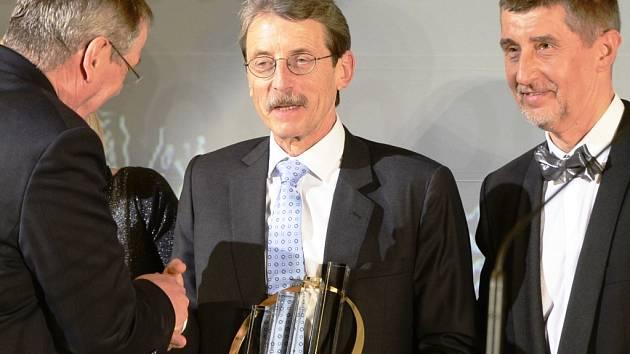 Jiří Hlavatý s ministrem Andrejem Babišem