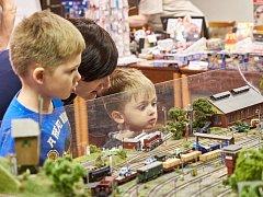 Výstava železničních modelů v Trutnově.