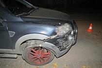 Opilec za volantem si nevšiml odstaveného auta
