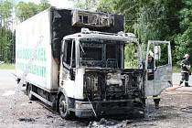 Nehoda kamionu na Výšince