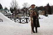 Sváteční lyžování ve Špindlu