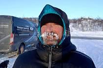 Jiří Vondrák v Norsku před startem 37. ročníku Finnmarksløpetu.