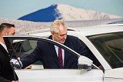 Návštěva prezidenta Miloše Zemana ve Vrchlabí