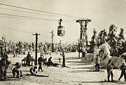 Historický pohled na lyžování na Černé hoře.
