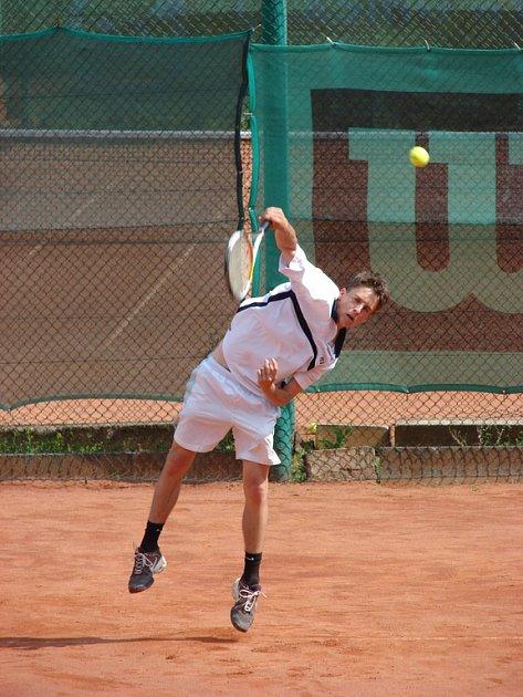 Trutnovský tenista Petr Vaníček.