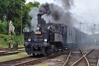 Železniční kulturní památka je už dvouletá.