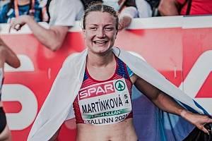 Eliška Martínková je velkou nadějí české chůze.