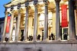 Studenti obchodní akademie v Londýně a v Drážďanech