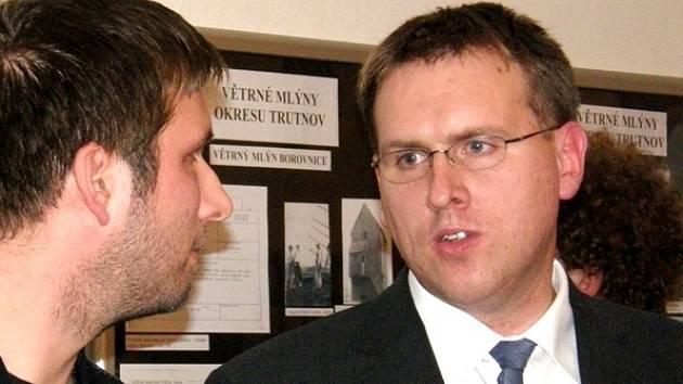 Vlastimil Málek (vpravo)