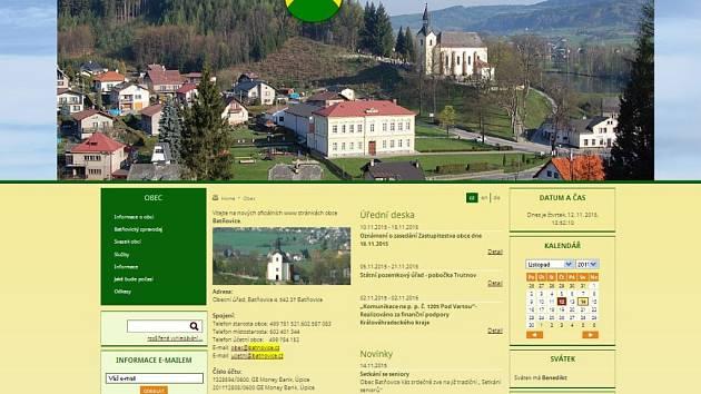 Oficiální stránky obce Batňovice.