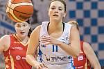 Basketbalistky trutnovské Lokomotivy v Renomia ŽBL patřičně potrápily favorita.