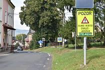 Správa silnice monitoruje stav silnice Chvaleč - Adršpach pomocí kamer a meteostanice. Loni ji poprvé uzavřela 30. listopadu.