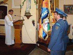 Hasiči z Horní Štěpanic slavili 100 let