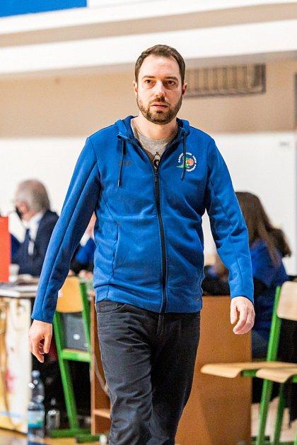 Trenér Michal Martišek
