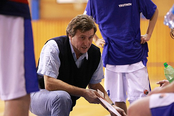 Trenér Trutnova Ladislav Malý st.
