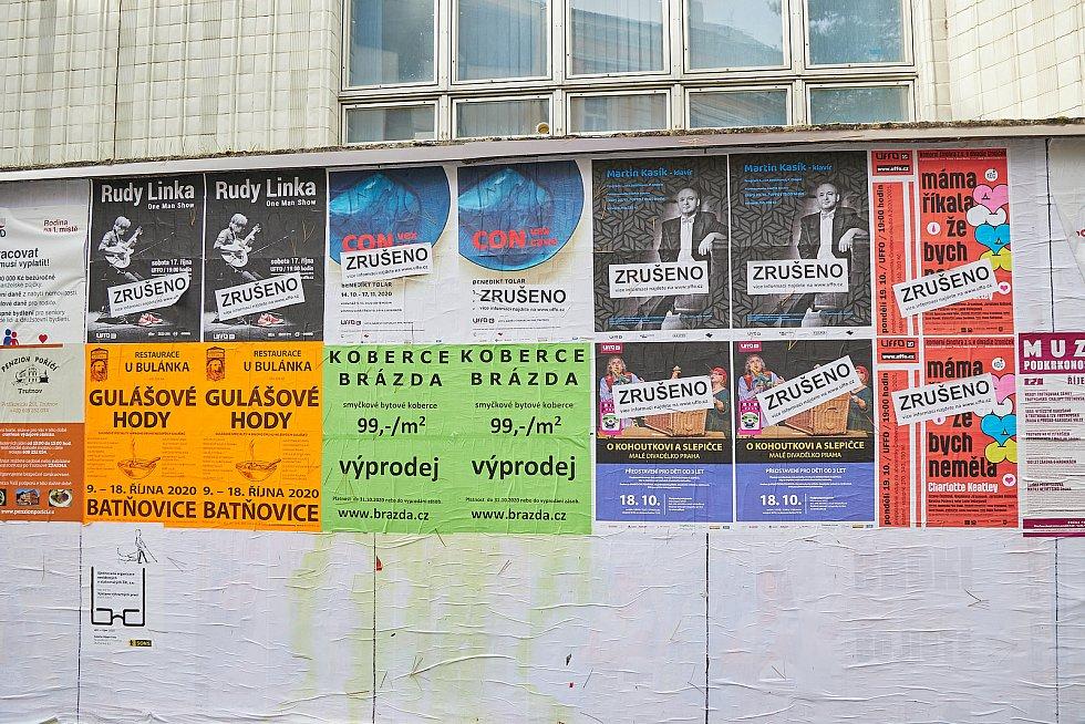 V Trutnově musela být zrušena řada plánovaných kulturních akcí.