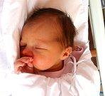 KAROLÍNKA MARKOVÁ se narodila 18. srpna ve 2.20 hodin v trutnovské porodnici rodičům Janě a Ladislavovi. Vážila 3160 gramů a měřila 50 centimetrů. Má brášku Vašíka a bydlí ve Starobuckém Debrném.