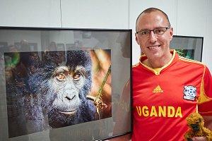 Osobní setkání s gorilou? To je neskutečný zážitek, říká fotograf Miloš Šálek.