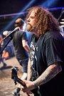 Hlavní hvězdou pátečního večera byli Napalm Death.