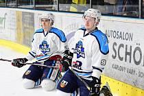 Vrchlabští hokejisté prohráli závěrečný duel série se Sokolovem 1:2.