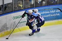 Vrchlabští hokejisté v neděli přehráli Kolín 2:1 a stejným výsledkem vedou ve čtvrtfinálové sérii play off.