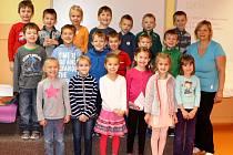 Žáci 1. B třídy, ZŠ R. Frimla Trutnov