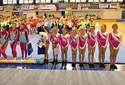 TRUTNOVSKÝ TEAMGYM byl úspěšný jak při domácím republikovém finále, tak na Plzeňském poháru.