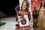 Vítězka soutěže Česko zpívá 2018 Zuzana Banková v trutnovském Uffu.