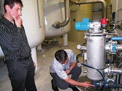 Nová úpravna pitné vody zásobuje sedm tisíc obyvatel