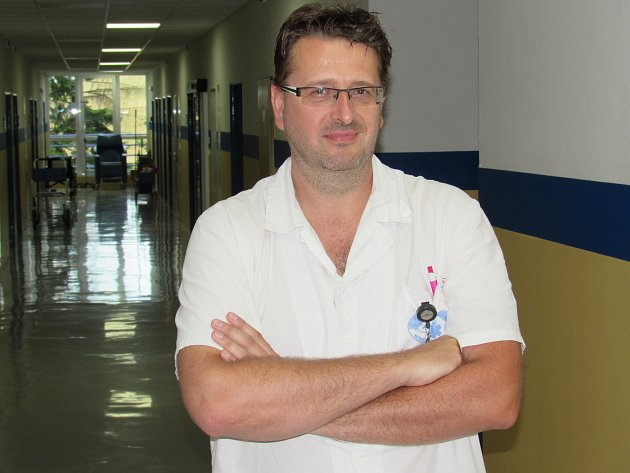 Nový ředitel Nemocnice Vrchlabí Michal Mrázek.