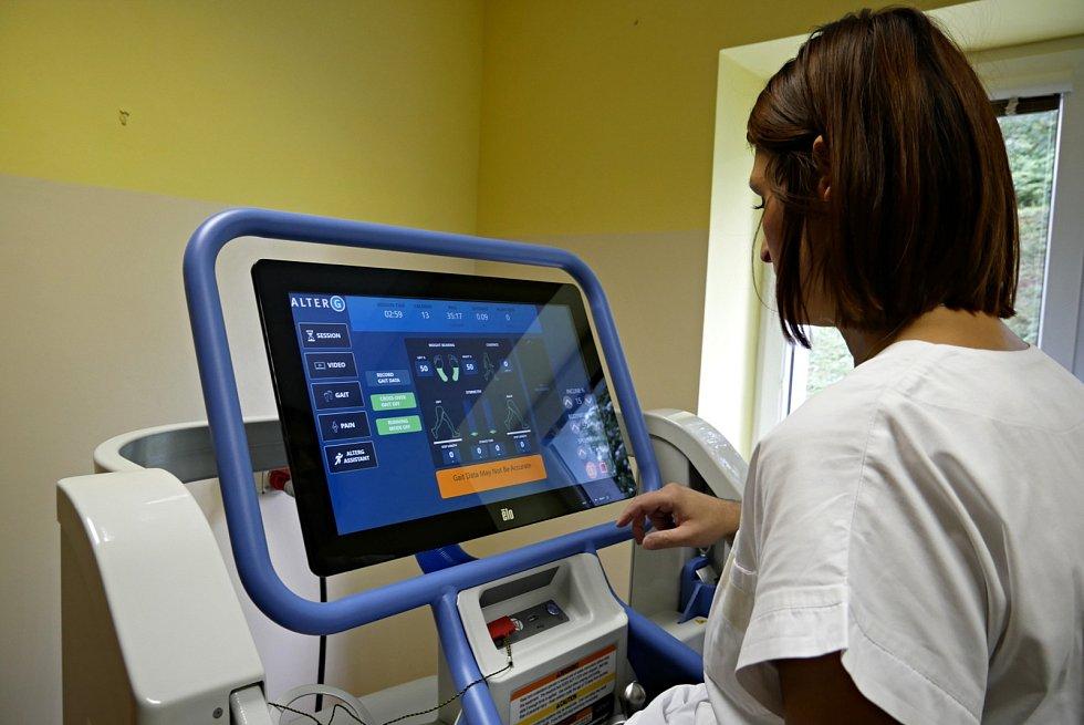 Nová ambulantní rehabilitace zlepší komfort pacientů i práci lékařů náchodské nemocnice.
