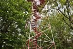 Nová rozhledna Žaltman, která nahradní původní, 50 let starou, bude jednou tak vysoká. Bude mít 22 metrů s výhledovými plošinami.