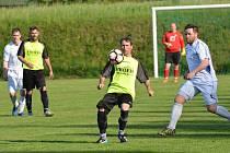 Střelecky nejplodnější zápas sezony prožila v neděli opora Horní Branné Dušan Paulů. Proti Rapidu zaznamenal hattrick.