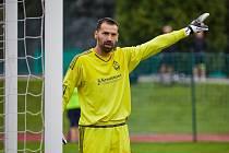 Trutnovské fotbalisty los víkendového kola Fortuna Divize C poprvé v historii zavedl na hřiště nováčka z Kosmonos.