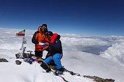Vrchlabský horolezec a skialpinista Radoslav Groh pokořil svoji první osmitisícovku.