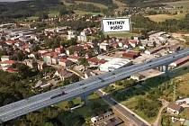 Trasa dálnice D11 povede přes trutnovskou městskou část Poříčí, odkud bude směřovat na Královec k hranicím s Polskem.