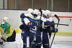 Druholigové hokejové derby Trutnov - Dvůr Králové (5:0).