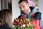 Manželé Koukalovi při návštěvě Kunčic