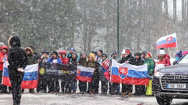 Ve Špindlu hustě sněží, Světový pohár pokračuje druhým dnem
