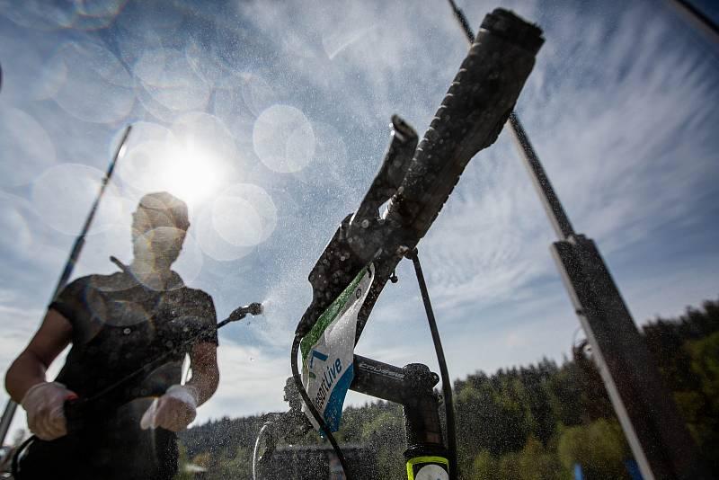 Lanovka na Černou horu v Krkonoších se opět rozjela, v provozu je za přísných hygienických opatření.