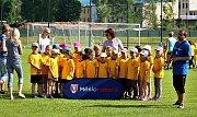 Fotbalový nábor v Úpici