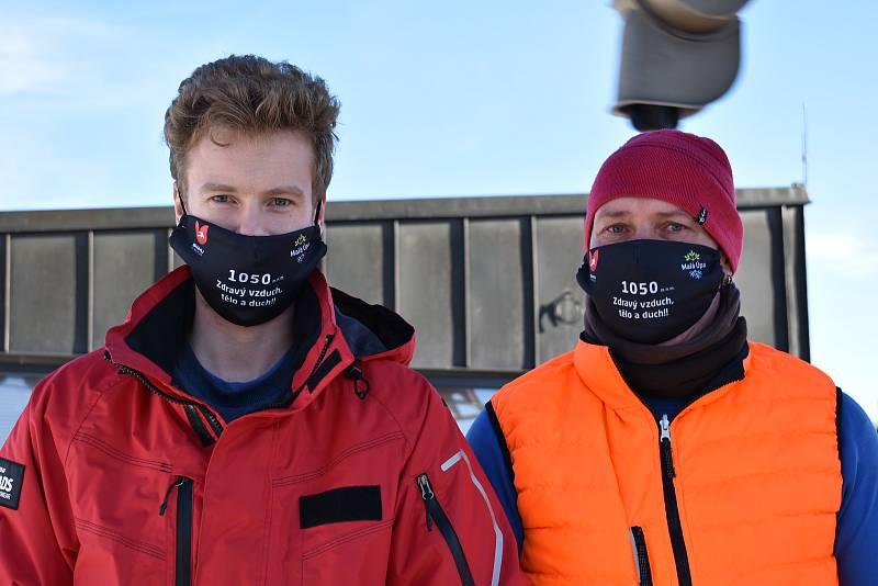 Zahájení lyžařské sezony v Malé Úpě.