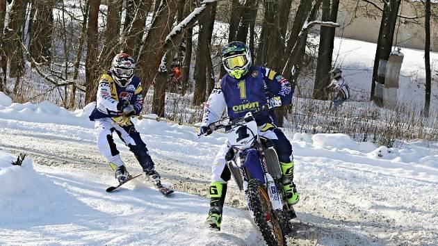 VICEMISTŘI. Josef Mňuk s Filipem Langerem (na snímku) skončili po dramatickém finále MČR celkově druzí.